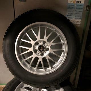 グッドイヤー(Goodyear)のHARRIER スタッドレスタイヤ ホイール セット 17インチ(タイヤ・ホイールセット)