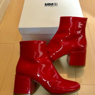 エムエムシックス(MM6)の2018 今期 MM6 ブーツ 37サイズ(ブーツ)