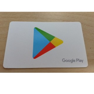 Google play カード 1500円分(その他)