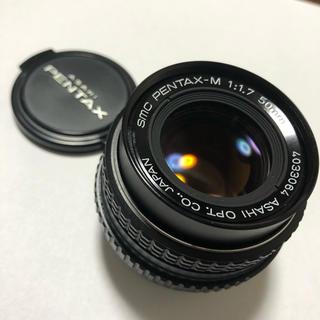 ペンタックス(PENTAX)のsmc PENTAX-M 1:1.7 50mm(レンズ(単焦点))