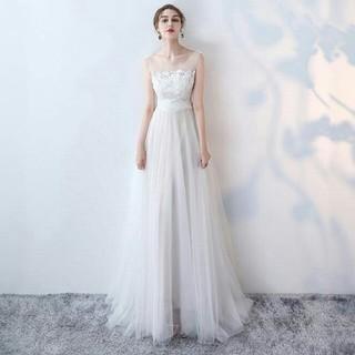 ウェディングドレス パーティードレス 結婚式 新品