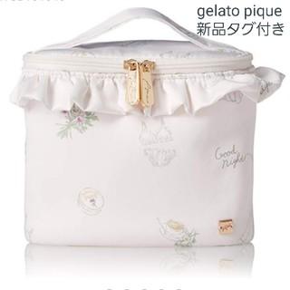 gelato pique - 【新品タグ付き】gelato piqué  ジェラピケ サテンバニティーポーチ