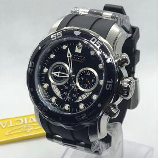 インビクタ(INVICTA)の[定価8.5万円] Invicta メンズ プロダイバー クロノグラフ ブラック(腕時計(アナログ))