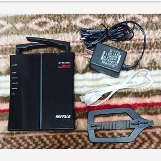 バッファロー(Buffalo)のBUFFALO 無線ルーター(PC周辺機器)