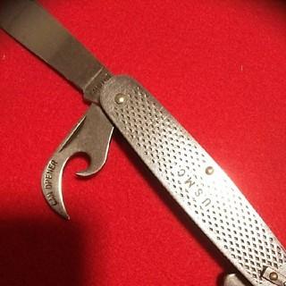 【実物激レア!】希少USMCポケットナイフ カミラスナイフ1989 (登山用品)