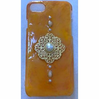 カシスオレンジ色のiPhoneケース(スマホケース)