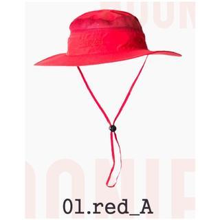 送料無料◇サファリハット◇ブーニーハット◇登山釣り◇カラー:red_Aレッド赤(ハット)