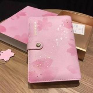 Starbucks Coffee - 桜 手帳 スケジュール帳 バインダー さくら 海外スターバックス台湾 シールペン