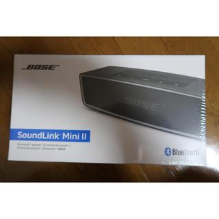BOSE - BOSE soundlink MINI  ii カーボン 新品
