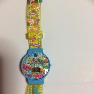 女の子 デジタル腕時計(電池交換済み)(その他)