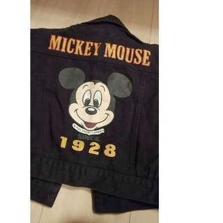 ディズニー(Disney)の【未使用品】ミッキーGジャン 100サイズ(ジャケット/上着)