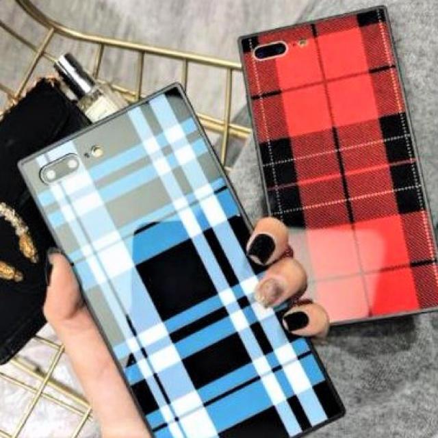 防水 iphone7 ケース 人気 | アイフォンケース☆グレンチェック柄☆2カラー☆スマホケースの通販 by shima♡'s shop|ラクマ