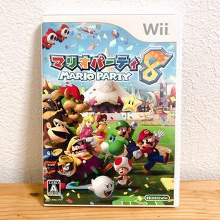 ウィー(Wii)のwii  ニンテンドー  マリオパーティ8(家庭用ゲームソフト)