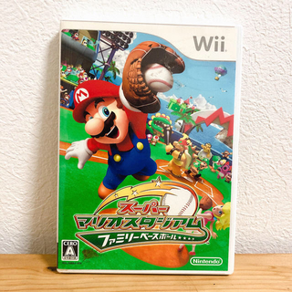 ウィー(Wii)のwii  ニンテンドー  マリオ  スーパーマリオスタジアム(家庭用ゲームソフト)