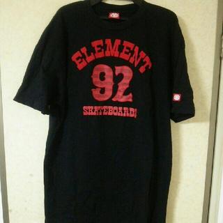 エレメント(ELEMENT)のエレメント ロングTシャツ(Tシャツ/カットソー(半袖/袖なし))