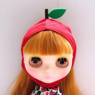 ねこのかぶりもの ブライス りんご