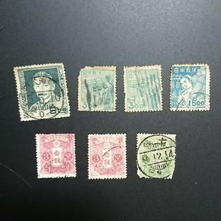 使用済み切手 コレクション(切手/官製はがき)