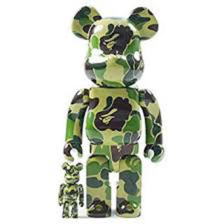 A BATHING APE - 新品 APE ABC BE@RBRICK 100% & 400% SET