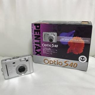 ペンタックス(PENTAX)のPENTAX Optio S40 デジカメ(コンパクトデジタルカメラ)
