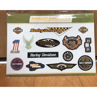 ハーレーダビッドソン(Harley Davidson)のハーレーダビッドソン ステッカー 非売品(ステッカー)