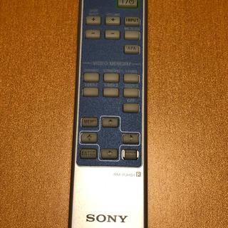 ソニー(SONY)の中古 ソニー プロジェクターリモコン RM-PJHS1(プロジェクター)