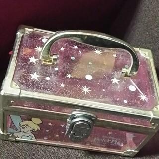 ディズニー(Disney)のティンカーベル♥ディズニー♥小物入れ。メイクBOX。アクセサリーケース♥(小物入れ)