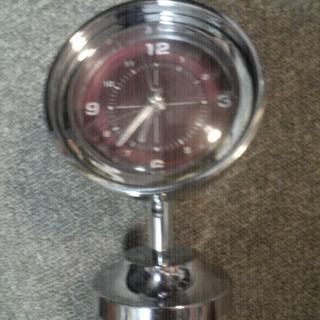 超便利ライト付きインテリアオシャレ目覚まし時計(取扱説明書付)激レアアンティーク(置時計)