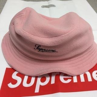 シュプリーム(Supreme)のSupreme Polartec Crusher 桃 Pink S/M(ハット)