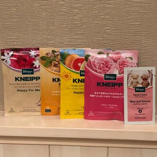 クナイプ(Kneipp)のクナイプ バスソルト4点セット&ハンドクリーム(入浴剤/バスソルト)