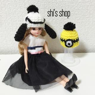 キャラクター風 帽子(人形)