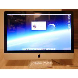アップル(Apple)の【美品】Apple iMac (mid 2011) 8GBメモリ 1TBHDD(デスクトップ型PC)