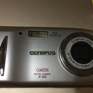 OLYMPUS デジカメ CAMEDIA X550 メガピクセル4.0(その他)