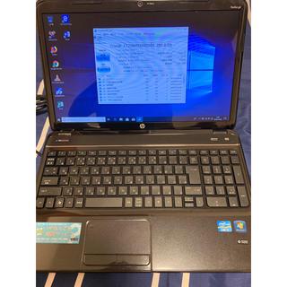 ノートパソコン HP i7-3612QM SSD Win10(ノートPC)