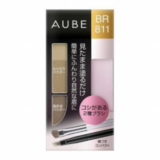 オーブ(AUBE)の新品❤️AUBE・アイブロウコンパクト BR811(パウダーアイブロウ)