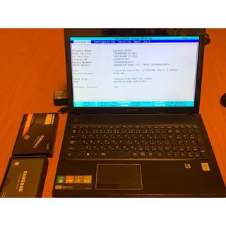 Lenovo G510  i7-4702QM 8GB 860 Evo 256GB(ノートPC)