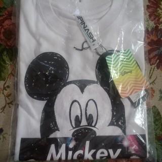 ディズニー(Disney)のディズニー ミッキープリントTシャツ(Tシャツ/カットソー(半袖/袖なし))