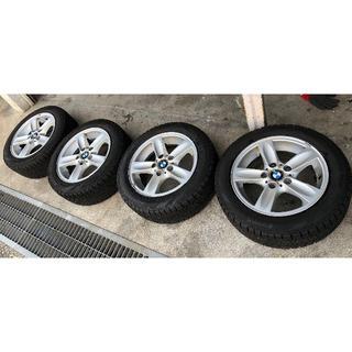ビーエムダブリュー(BMW)のBMW 1シリーズ ホイルSET!205/55R16 2016製 スタッドレス(タイヤ・ホイールセット)
