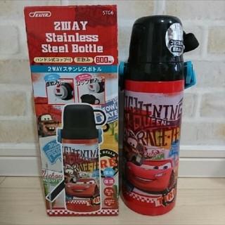 ディズニー(Disney)の箱付❗新品 カーズ 2wayステンレスボトル ハンドル式コップ付 直飲み 600(水筒)