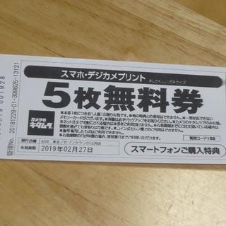 カメラのキタムラ スマホデジカメプリント 30枚分 無料券(その他)
