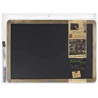 ☆黒板☆ ブラックボード アンティーク つや消し加工A2(その他)