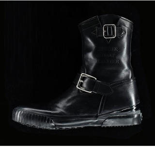 バルデセブンティセブン(Varde77)のVarde77×INFINITO  ENGINEER SNEAKER ブラック(ブーツ)