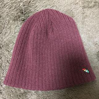 アーノルドパーマー(Arnold Palmer)のニット帽(ショップ袋付)(ニット帽/ビーニー)