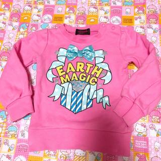 アースマジック(EARTHMAGIC)のアースマジック トレーナー(Tシャツ/カットソー)