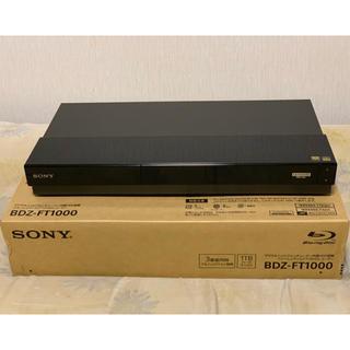 ソニー(SONY)のBDZ-FT1000 (ブルーレイレコーダー)