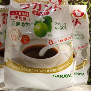 サラヤ(SARAYA)のラカント  スティック 3g×60本入  3袋(調味料)