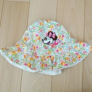 ディズニー(Disney)のキッズ帽子(ミニーマウス)50cm(帽子)