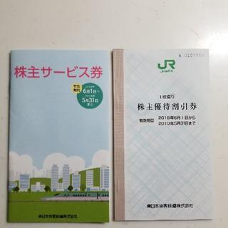 JR東日本 株主優待、株主サービス券(鉄道乗車券)