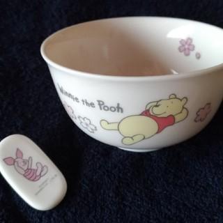 ディズニー(Disney)のプーさん お茶碗&箸置きセット(プレート/茶碗)