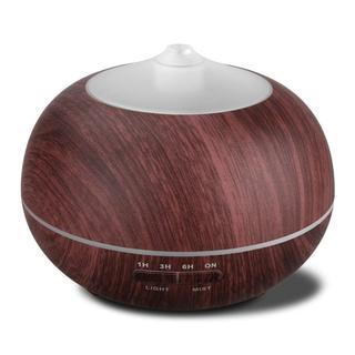 7色LEDライトがきれい★超音波式 400ml アロマディフューザー(アロマポット/アロマランプ/芳香器)