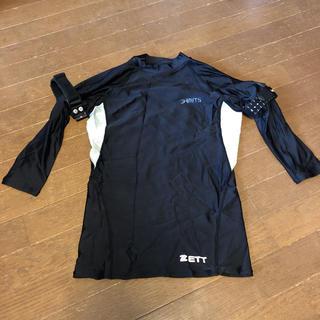 ゼット(ZETT)のZETT加圧トレーニング七分袖シャツ(トレーニング用品)